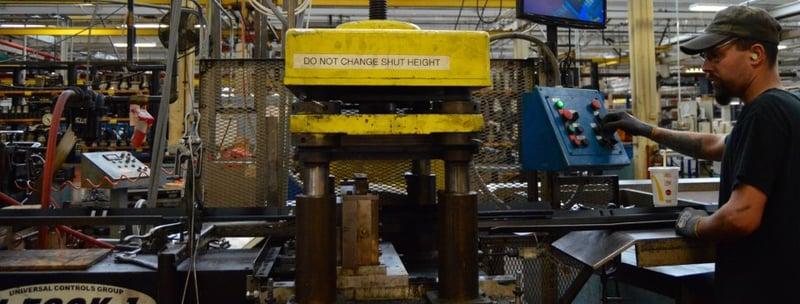 metal-fabrication-cutoff-discharge-machinery