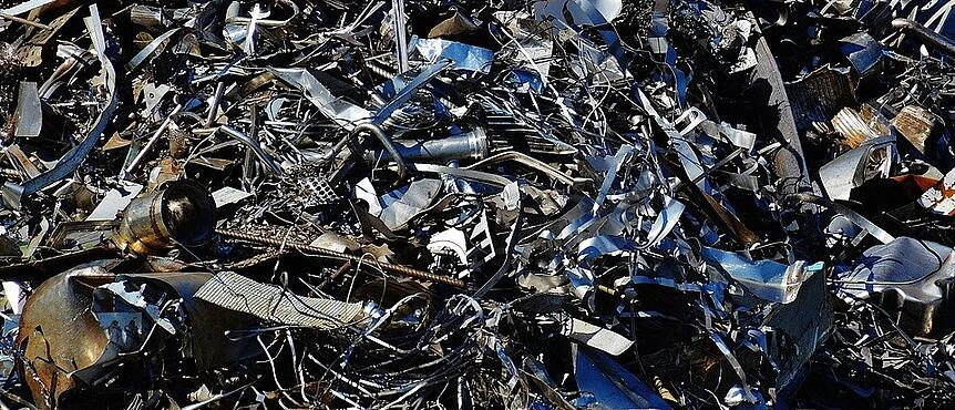 is steel sustainable - scrap waste