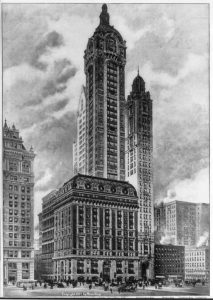 dahlstrom architectural mouldings - Singer Building New York City
