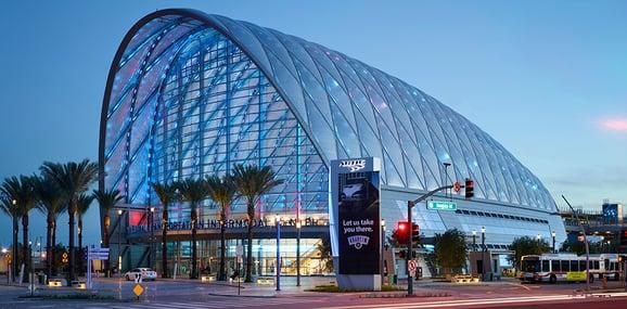 artic transportation center hok designs architectural metal