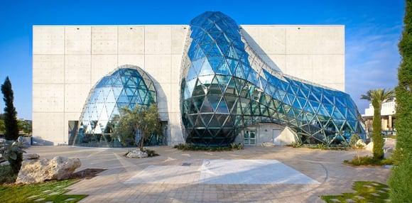 hok design dali museum florida architectural metal