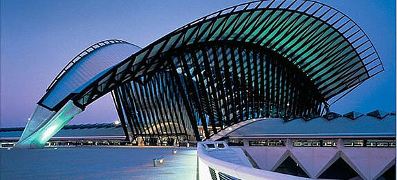 Lyon Airport Arrival Terminal