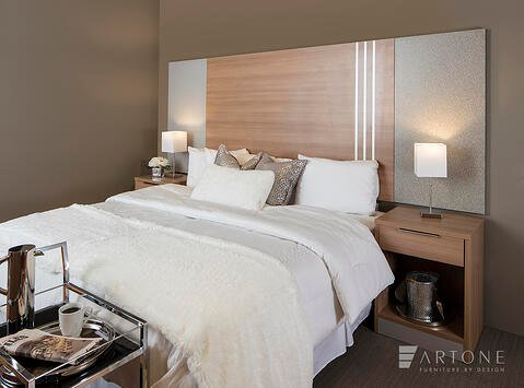 decorative metal trim for furniture - fold-down murphy bed by artone