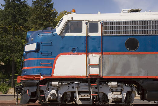 commercial roll formed products - train