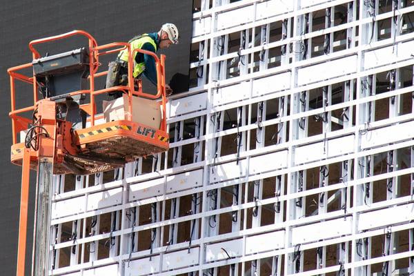 installation materials for exterior metal cladding