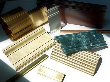 metal trim mouldings different metals