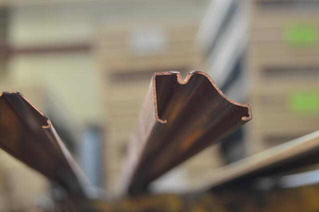 standard moulding profiles - copper