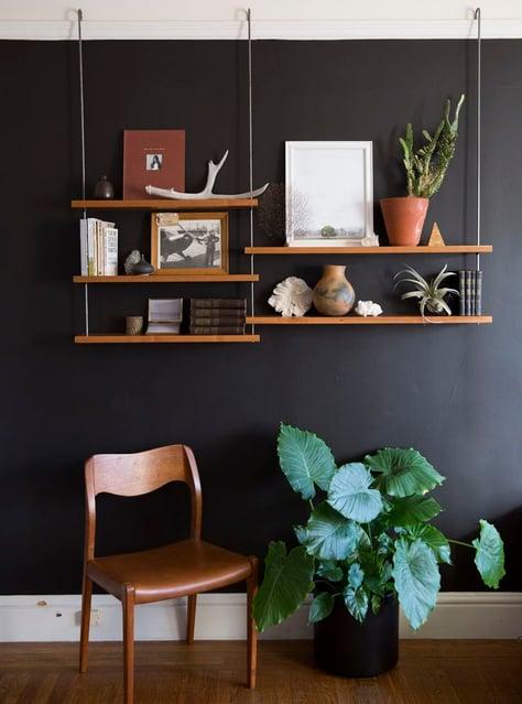 picture rails Shelves