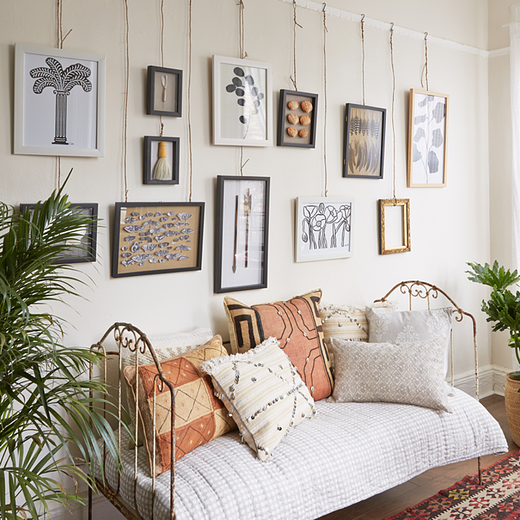 5 Unusual Uses For Picture Rails To Kick Start Your Creative