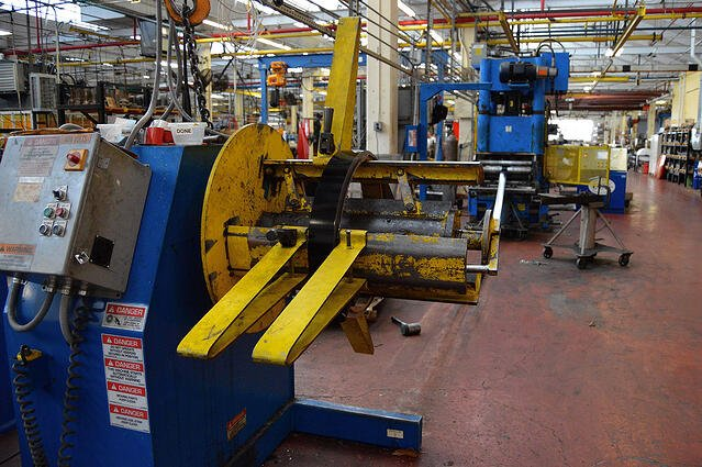 manufacturing process improvement examples - roll forming machine