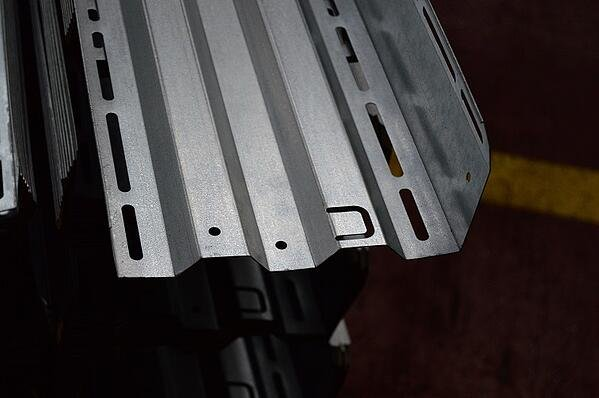 roll forming advantages - profile with several features