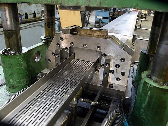 roll forming line factory - machine