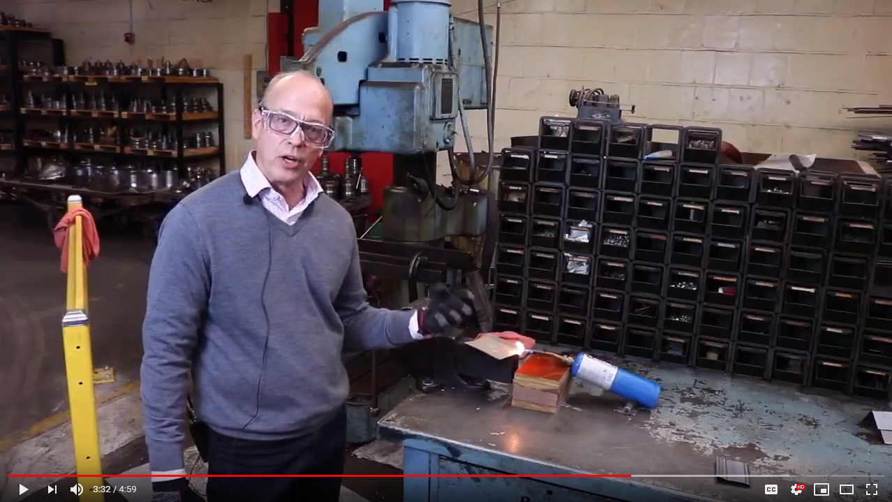 VIDEO: Wood Vs. Architectural Metal Mouldings Part 3 - Fire Test