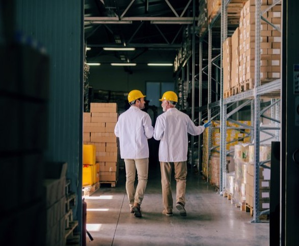 is-your-roll-forming-company-agile-two-workers-warehouse