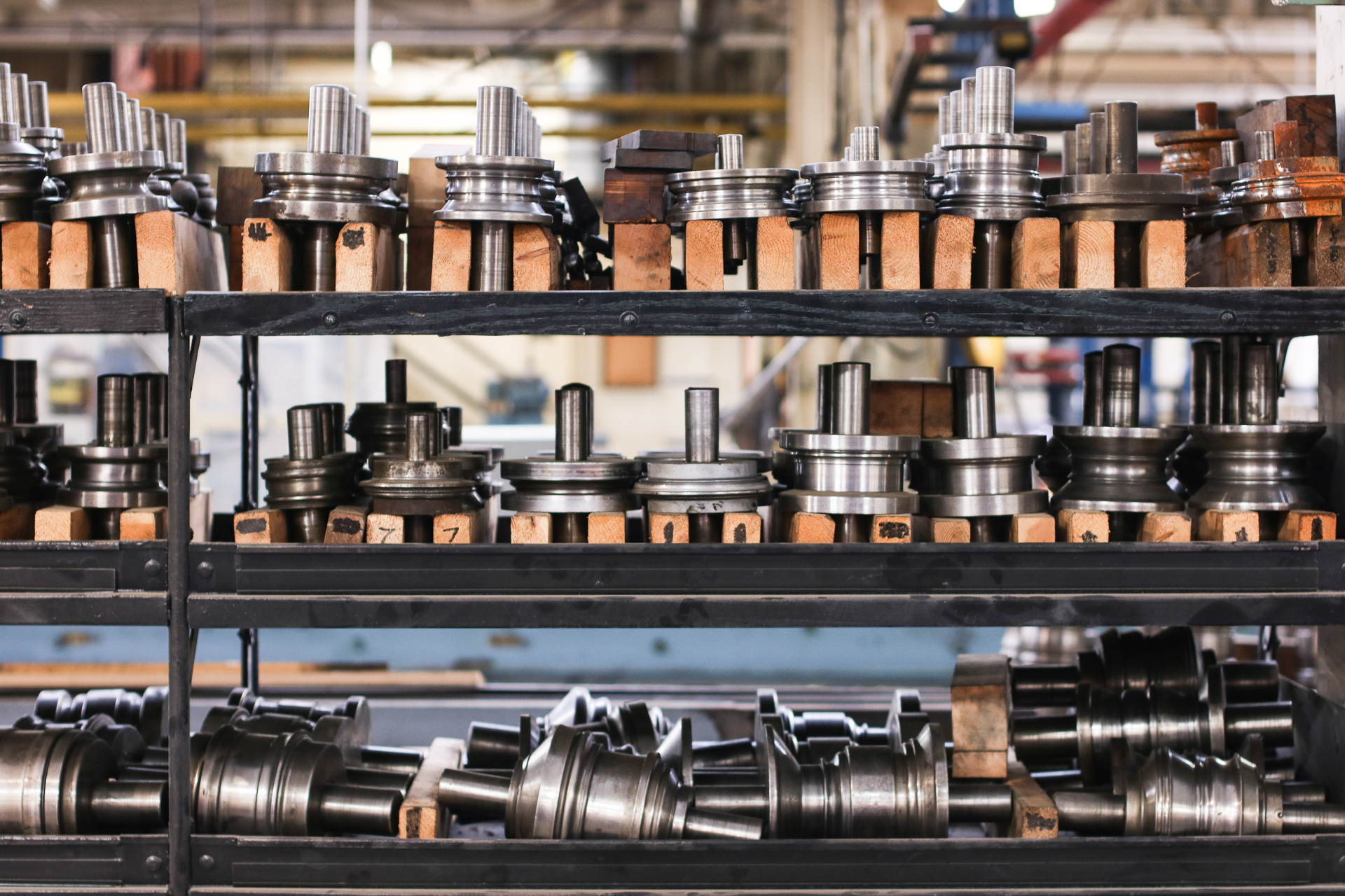 Centrally Storing Roll Forming Tooling Cuts Lead Time & Red Tape